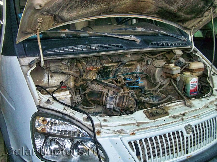 Троит газель 405 двигатель причины